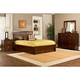 Hillsdale Metro Liza Storage Platform Bedroom Set in Warm Cherry