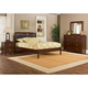 Hillsdale Metro Martin Platform Bedroom Set in Warm Cherry