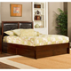 Hillsdale Metro Martin Queen Storage Platform Bed in Warm Cherry