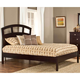 Hillsdale Metro Riva King Platform Bed in Rich Espresso