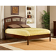 Hillsdale Metro Riva Queen Platform Bed in Warm Cherry