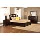 Hillsdale Metro Riva Storage Platform Bedroom Set in Rich Espresso