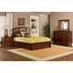Hillsdale Metro Riva Storage Platform Bedroom Set in Warm Cherry