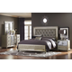 Samuel Lawrence Platinum Panel Bedroom Set
