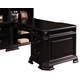 Samuel Lawrence Furniture Lexington Pedestal Return in Black 4456-924R