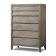 Cresent Fine Furniture Corliss Landing Louvered Tall Chest 5608