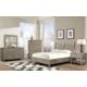 Cresent Fine Furniture Corliss Landing Shutter Sleigh Bedroom Set