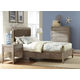 Cresent Fine Furniture Corliss Landing Upholstered w/ Storage on One Side Bedroom Set