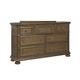 Samuel Lawrence Paxton Drawer Dresser in Medium Oak 8674-010