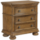 Samuel Lawrence Paxton 3-Drawer Nightstand in Medium Oak 8674-050