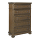 Samuel Lawrence Paxton 5-Drawer Chest in Medium Oak 8674-040