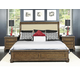 Samuel Lawrence Paxton Panel Bedroom Set in Medium Oak