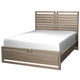Cresent Fine Furniture Hampton Panel Cal King Bed in Sand