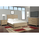 Cresent Fine Furniture Hampton Panel w/ Storage - Double Sided Bedroom Set in Sand