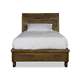 Magnussen Furniture Braxton Full Island Bed with Casters in Distressed Natural Y2377-60