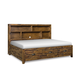 Magnussen Furniture Braxton Full Lounge Bed in Distressed Natural Y2377-69