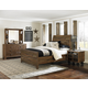 Magnussen Furniture Braxton Panel Bedroom Set in Distressed Natural