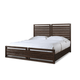 Cresent Fine Furniture Hampton Panel Cal King Bed in Black Tea