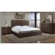 Cresent Fine Furniture Hampton Panel Bedroom Set in Black Tea
