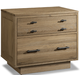Cresent Fine Furniture Hudson Nightstand with Power in Sand 5114