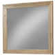 Cresent Fine Furniture Hudson Mirror in Sand 5102