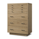 Cresent Fine Furniture Hudson Tall Chest in Sand 5109