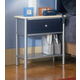 Hillsdale Universal Youth Nightstand in Silver and Navy 1177-771