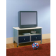 Hillsdale Universal Youth TV Chest in Silver and Navy 1177-779