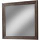 Cresent Fine Furniture Hudson Mirror in Black Tea 5202