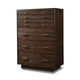 Cresent Fine Furniture Hudson Tall Chest in Black Tea 5209