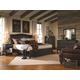 Aspenhome Ravenwood Sleigh Bedroom Set in Antique Black