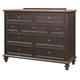 Aspenhome Ravenwood 7-Drawer Chesser in Antique Black I65-455