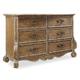 Hooker Furniture Chatelet 6-Drawer Dresser 5300-90001