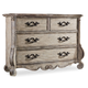 Hooker Furniture Chatelet Media Drawer Chest in Antique Linen 5350-90011