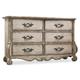 Hooker Furniture Chatelet 6-Drawer Dresser in Antique Linen 5350-90001