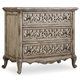 Hooker Furniture Chatelet 3-Drawer Fretwork Nightstand 5350-90016