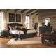 Aspenhome Ravenwood Storage Sleigh Bedroom Set in Antique Black