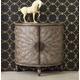 Hooker Furniture Mélange Tatum Demilune in Brown 638-50128