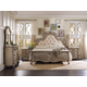 Hooker Furniture Chatelet Upholstered Panel Bedroom Set in Antique Linen