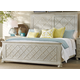Hooker Furniture Sunset Point Queen Fretwork Panel Bed in Hatteras White 5325-90250