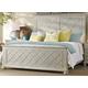 Hooker Furniture Sunset Point King Fretwork Panel Bed in Hatteras White 5325-90266