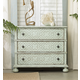 Hooker Furniture Sunset Point 3-Drawer Bachelor's Chest in St. Thomas Blue 5326-90017