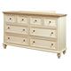 Aspenhome Cottonwood 6-Drawer Dresser in Linen White I67-453