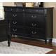 New Classic Martinique Dresser in Rubbed Black 00-222-050