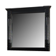 New Classic Martinique Beveled Mirror in Rubbed Black 00-222-060