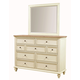 Aspenhome Cottonwood 7-Drawer Chesser in Linen White I67-455