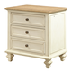 Aspenhome Cottonwood Liv360 Nightstand in Linen White I67-450