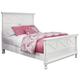 Kaslyn Queen Panel Bed in White B502-57/54/96
