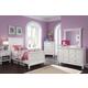 Kaslyn Panel Bedroom Set in White