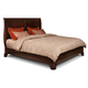 Cresent Fine Furniture Moderne King Sleigh Bed 7778K